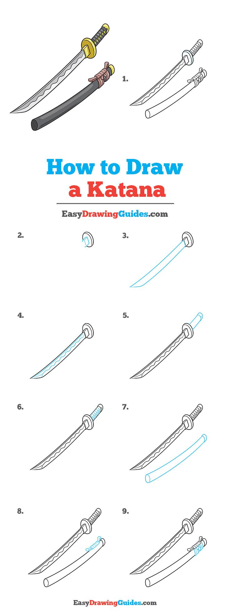 How to Draw Katana