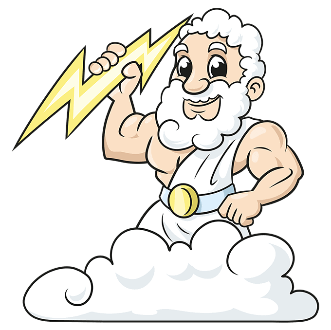How to Draw Zeus Step 10