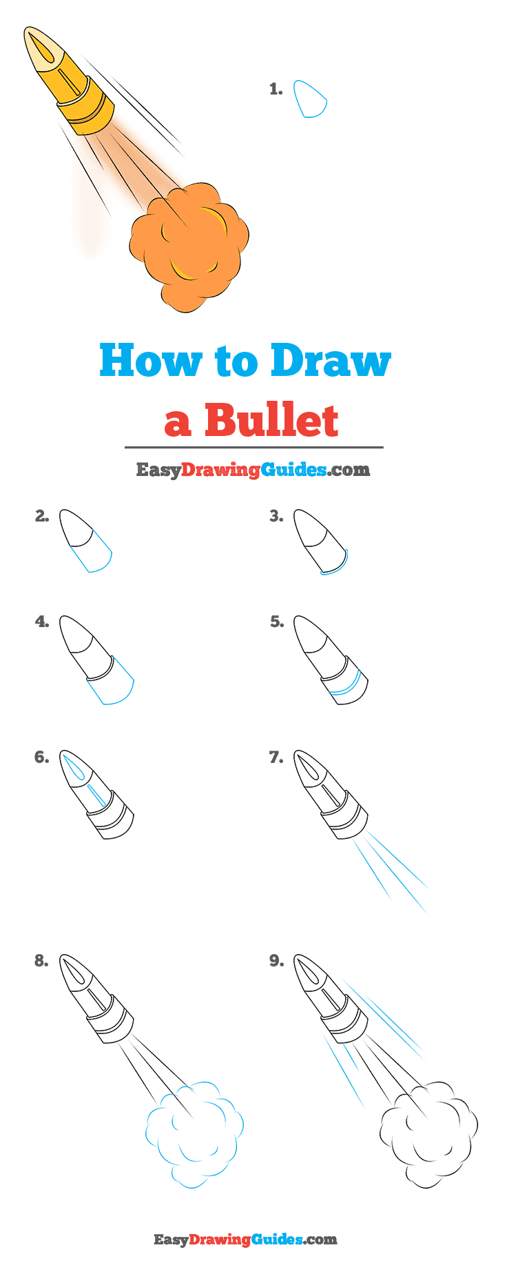 How to Draw Bullet