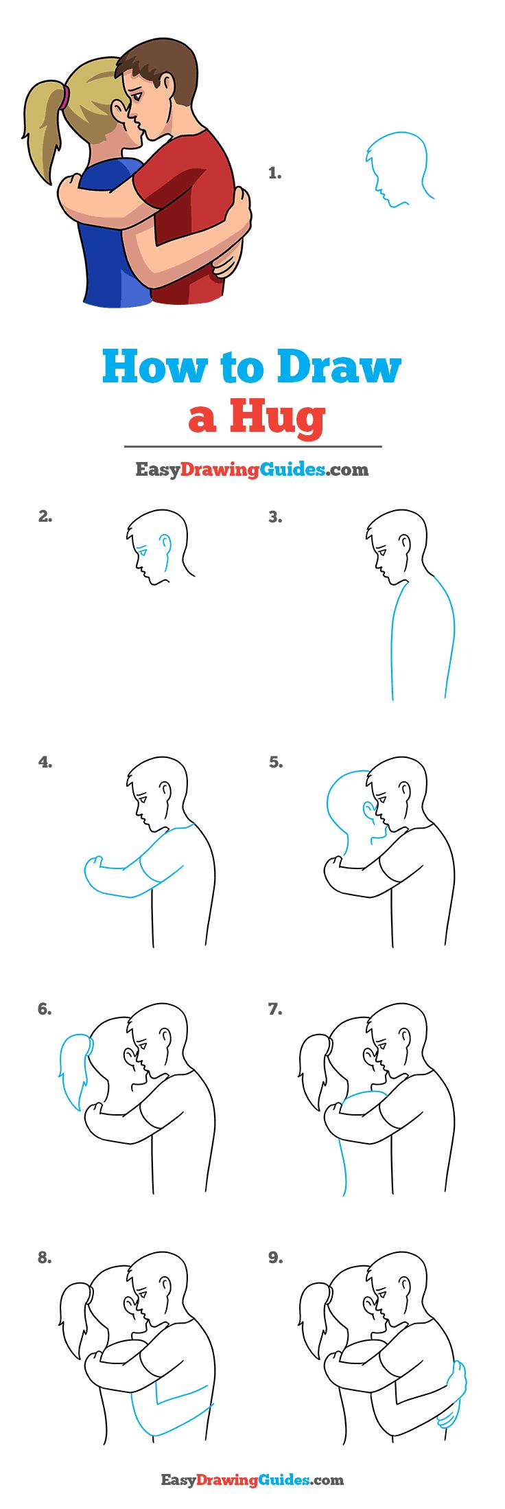 How to Draw Hug