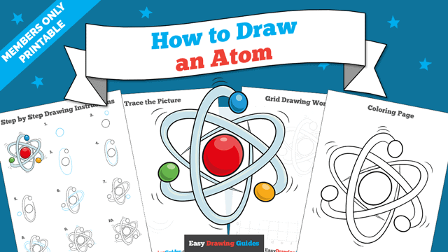 download a printable PDF of Atom drawing tutorial