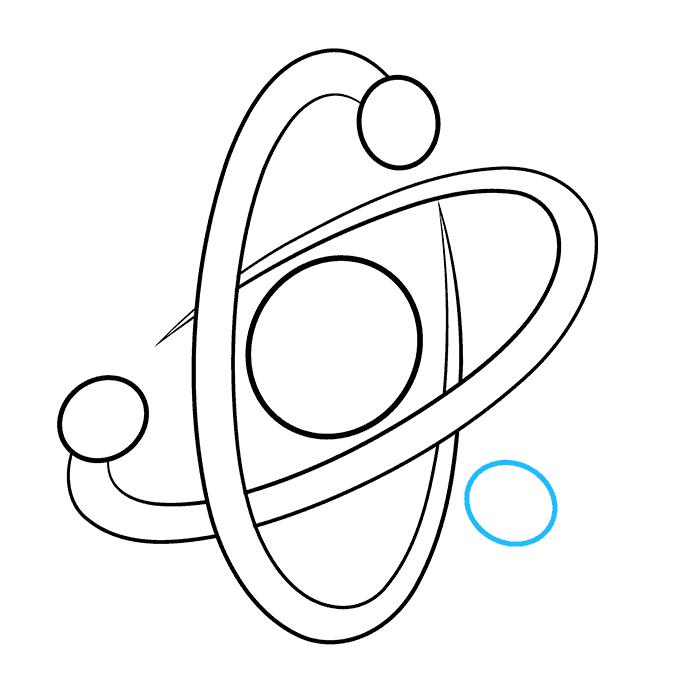 How to Draw an Atom Step 07