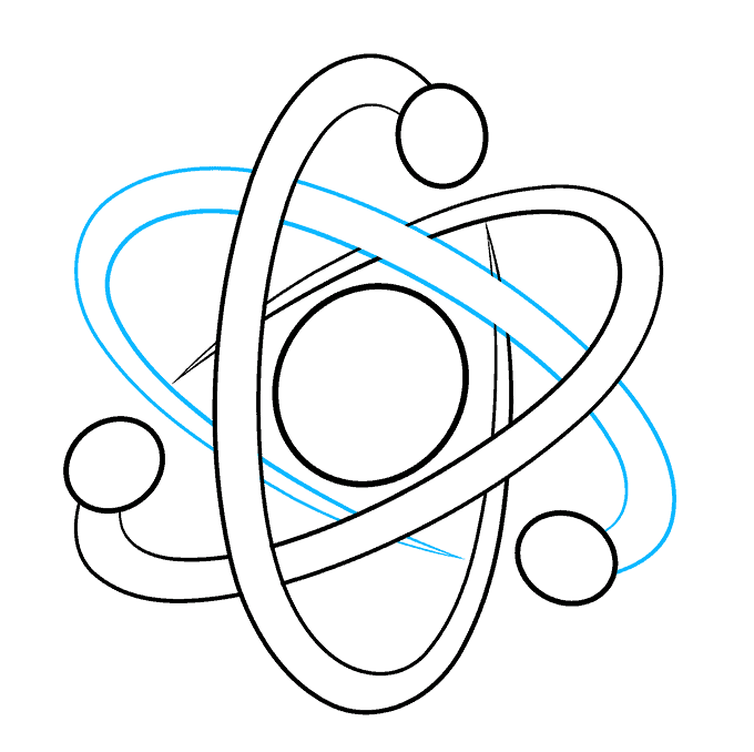 How to Draw an Atom Step 08