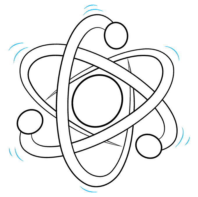 How to Draw an Atom Step 09
