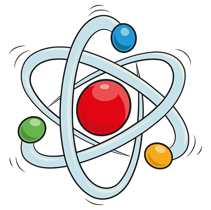 How to Draw an Atom Step 10