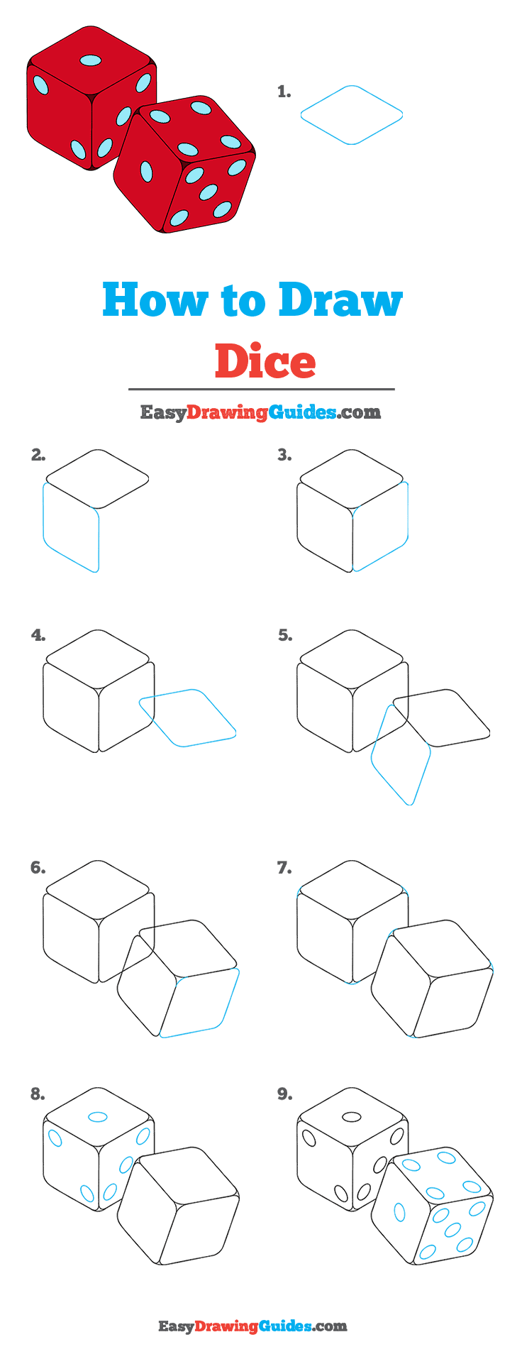 How to Draw Dice