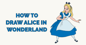 How to Draw Alice in Wonderland Featured Image