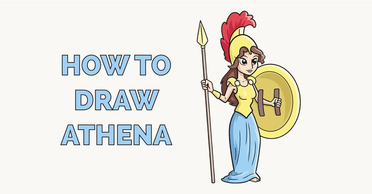 How to Draw Athena Featured Image