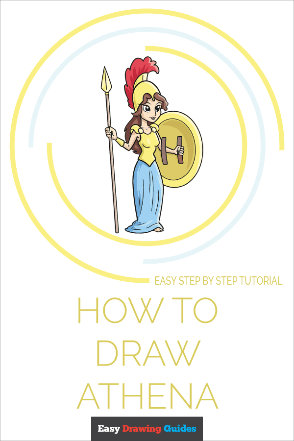 How to Draw Athena | Share to Pinterest