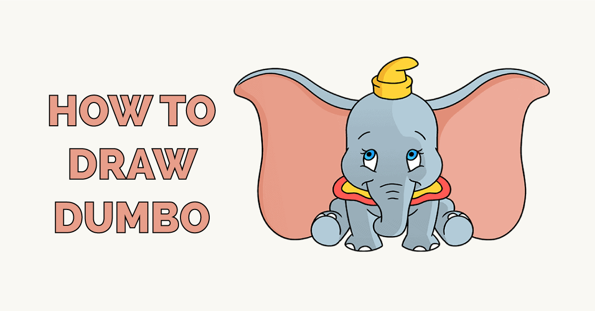 How to Draw Dumbo Featured Image