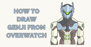 How to Draw Genji from Overwatch