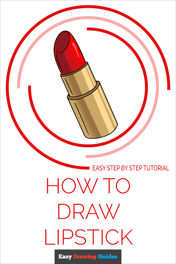 How to Draw Lipstick | Share to Pinterest