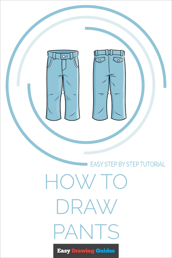 How to Draw Pants Pinterest Image