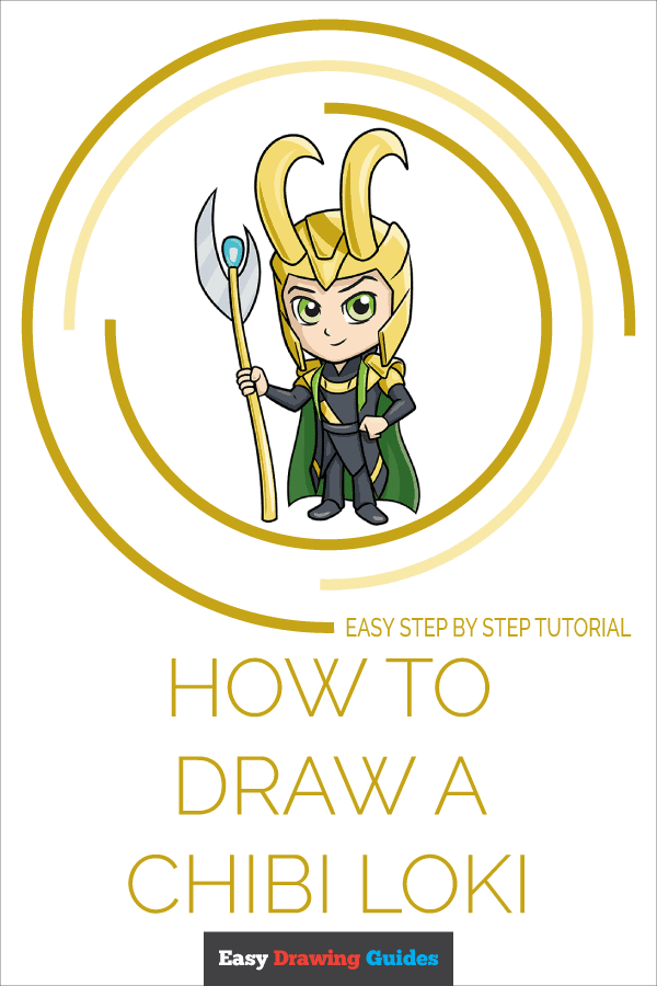 How to Draw Chibi Loki | Share to Pinterest