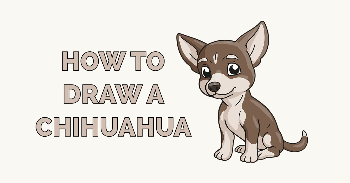 How To Draw A Chihuahua Really Easy Drawing Tutorial