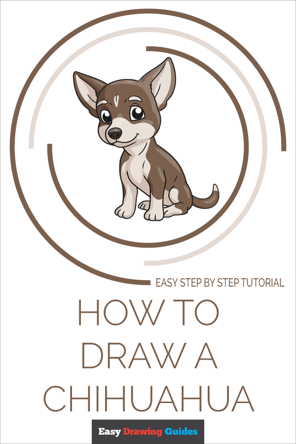 How to Draw Chihuahua | Share to Pinterest