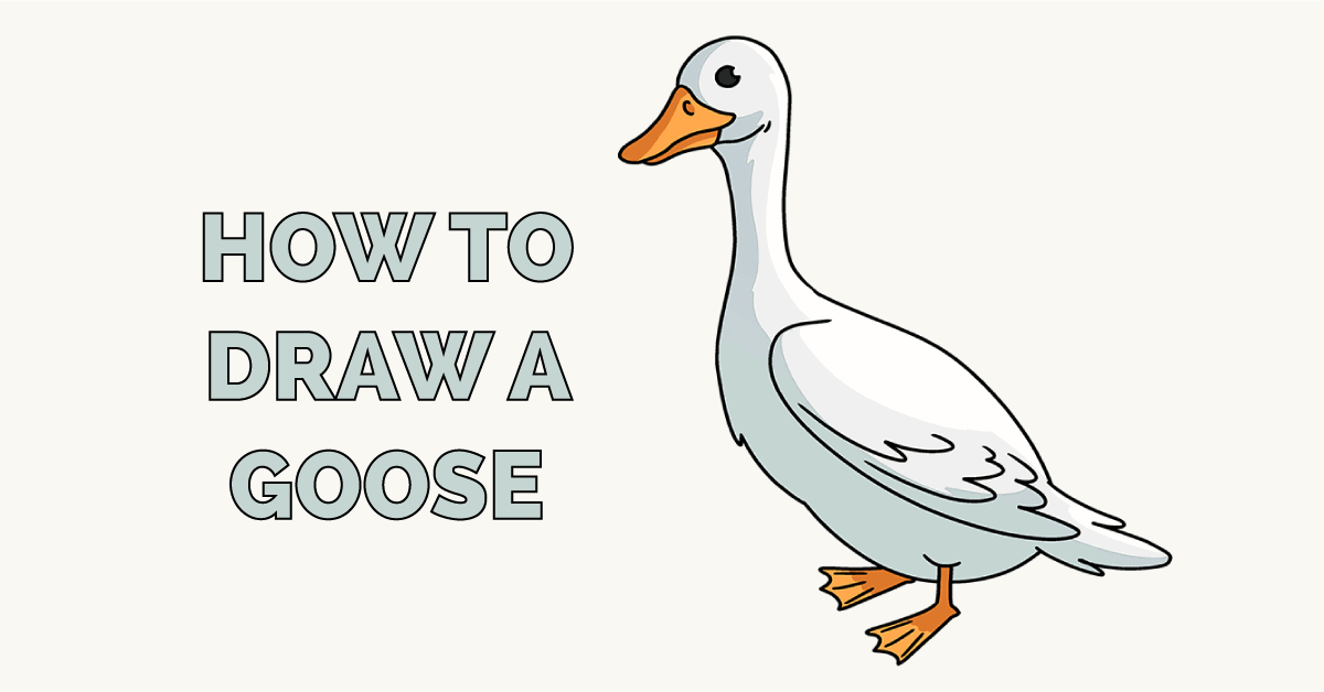 How to Draw a Goose Featured Image