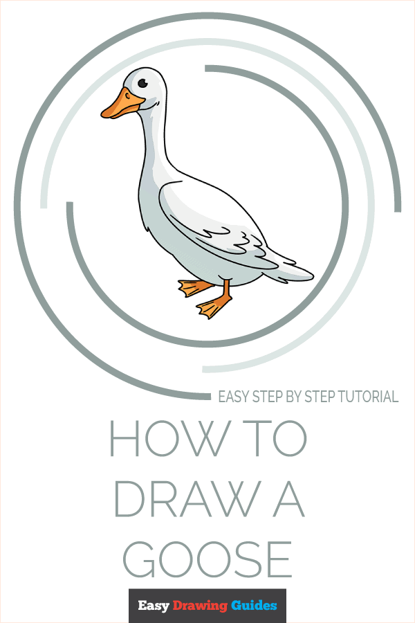 How to Draw a Goose Pinterest Image