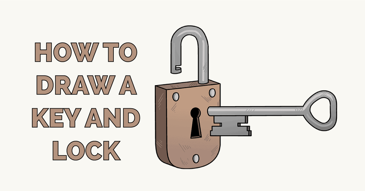 How to Draw a Key and Lock Featured Image