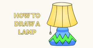 How to Draw a Lamp Featured Image