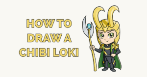 How to Draw a Chibi Loki Featured Image