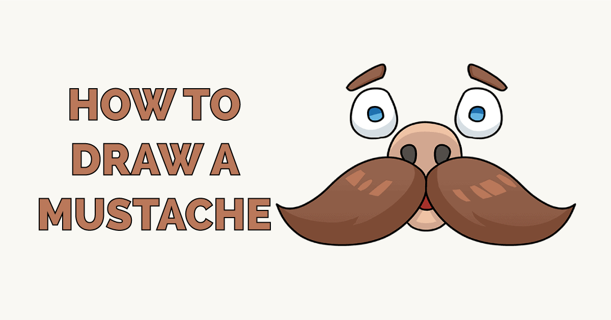 How to Draw a Mustache Featured Image
