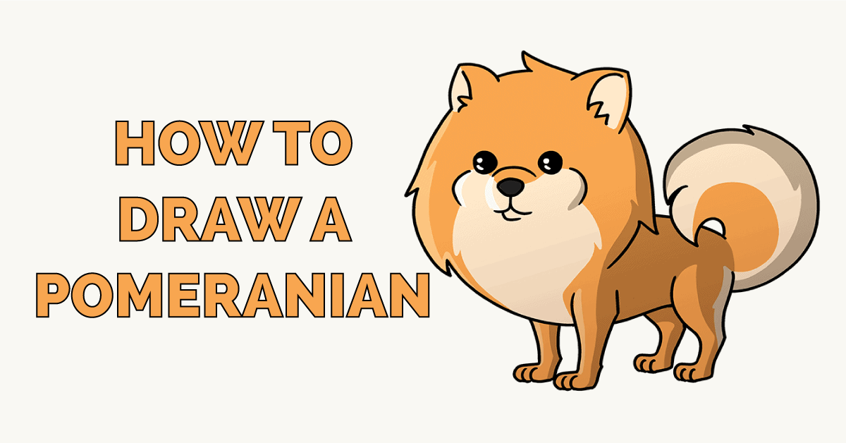 How to Draw a Pomeranian Featured Image