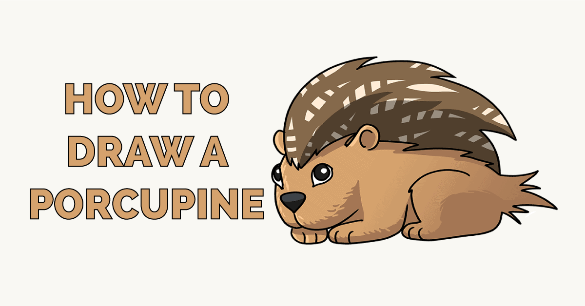 How to Draw a Porcupine Featured Image