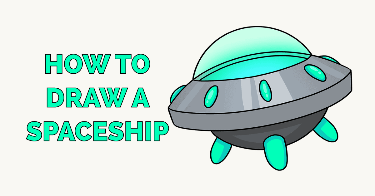 How to Draw a Spaceship Featured Image