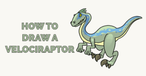 How to Draw a Velociraptor Featured Image