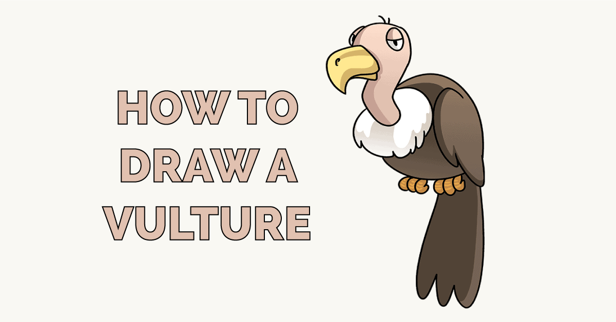 How to Draw a Vulture Featured Image