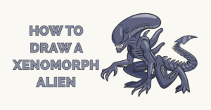 How to Draw a Xenomorph Alien Featured Image