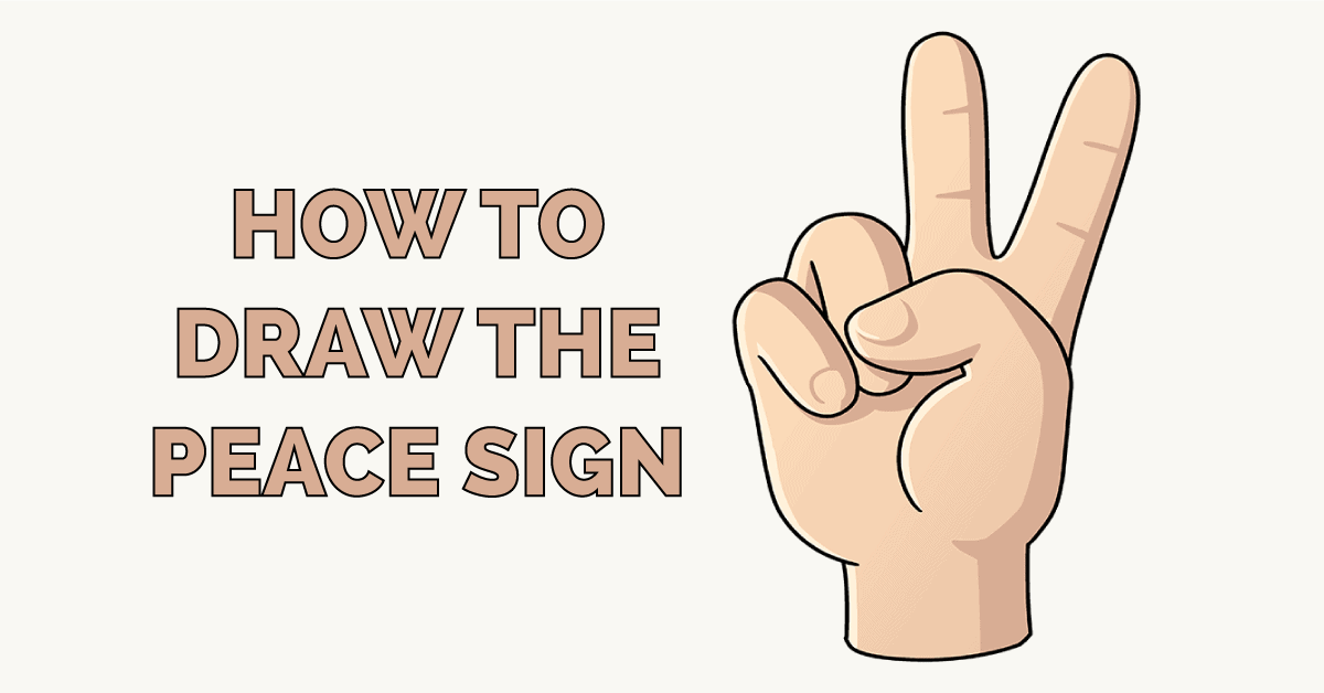 How to Draw the Peace Sign Featured Image