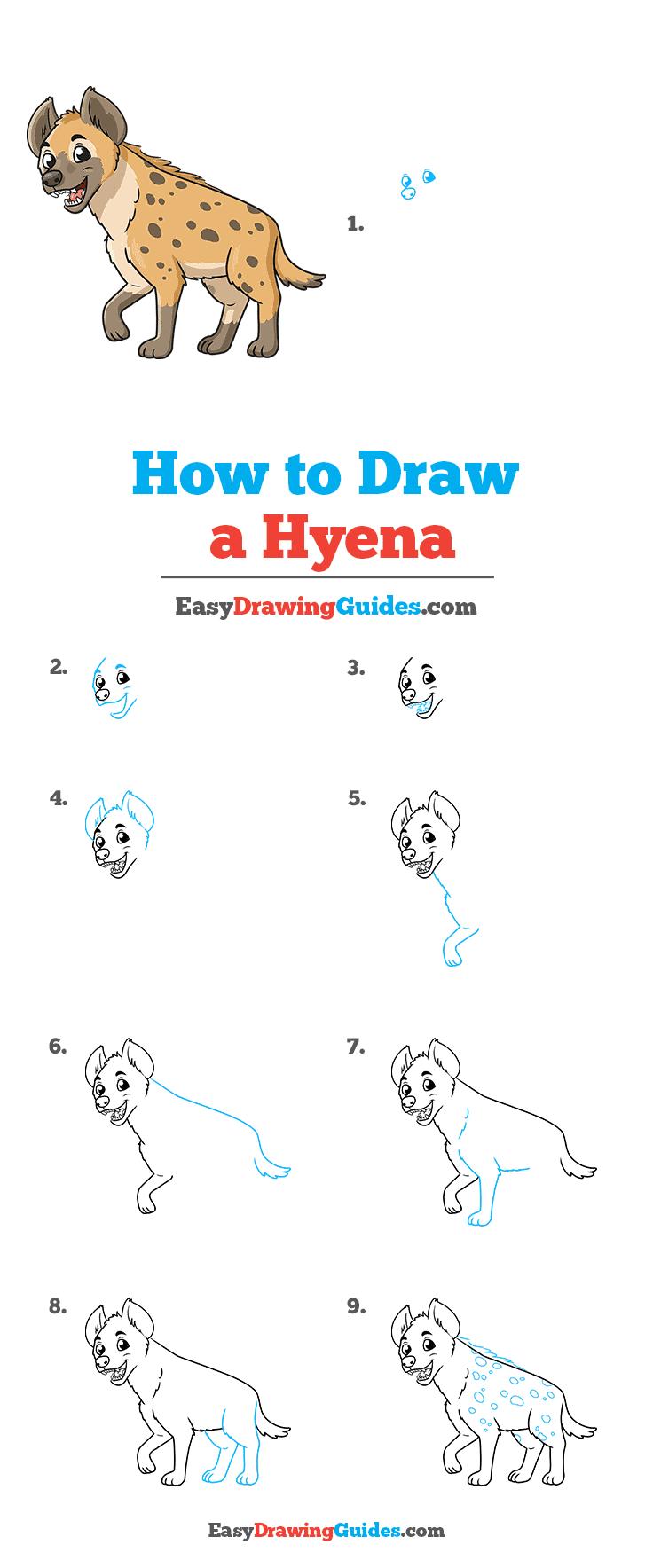 How to Draw Hyena