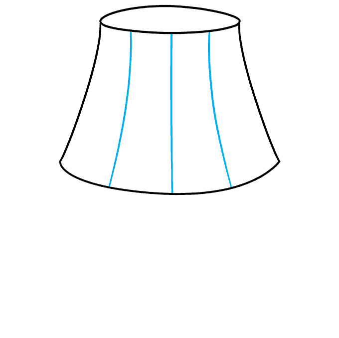 How to Draw Lamp: Step 5