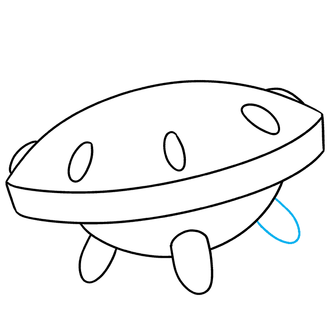 How to Draw a Spaceship Step 07