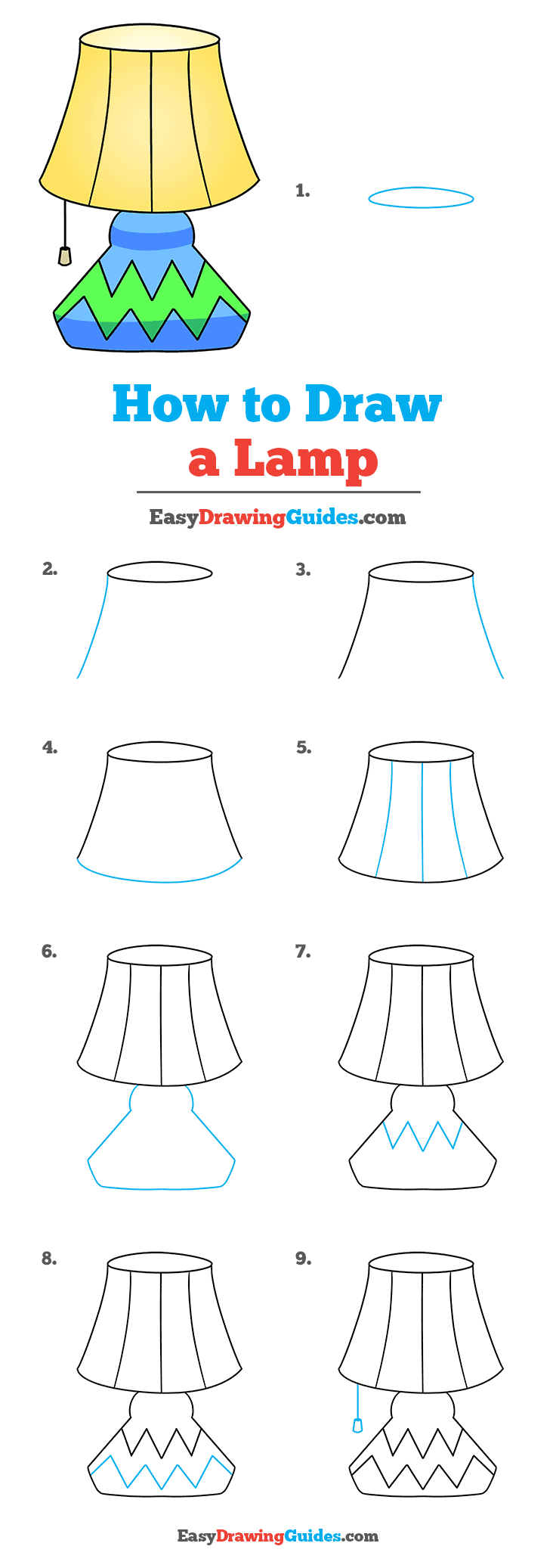 How to Draw Lamp