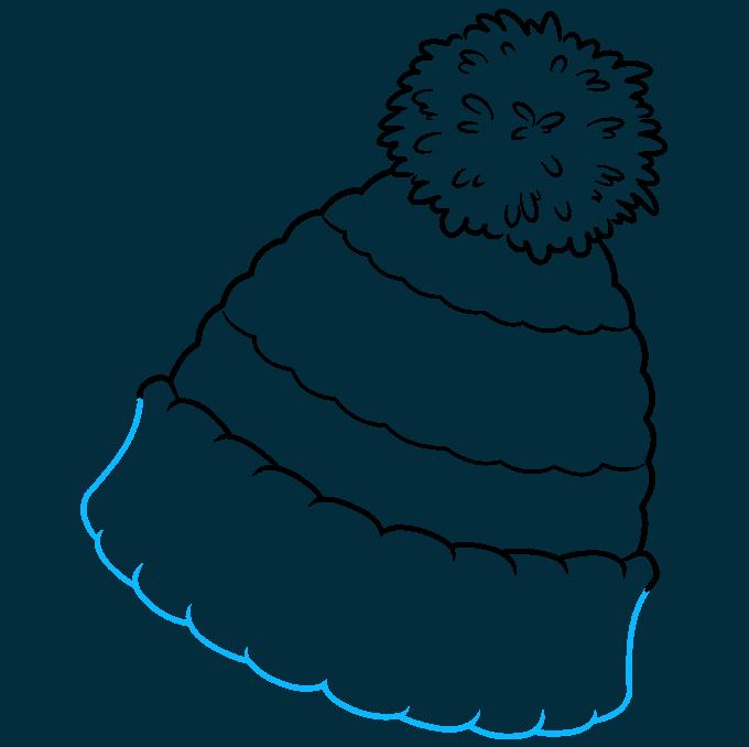 How to Draw Beanie: Step 8