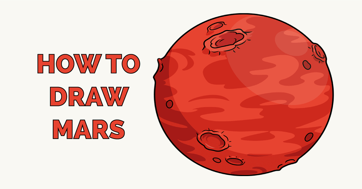 How to Draw Mars Featured Image