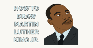 How to Draw Martin Luther King Jr. Featured Image