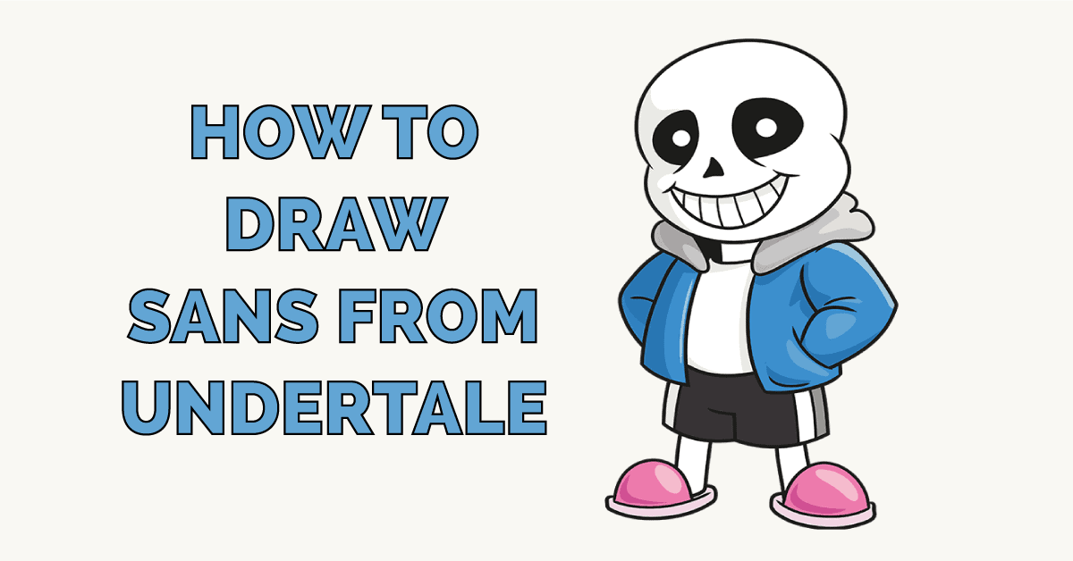 How to Draw Sans from Undertale Featured Image