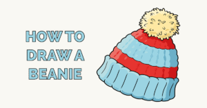 How to Draw a Beanie Featured Image