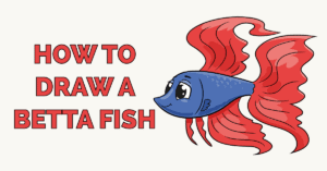 How to Draw a Betta Fish Featured Image