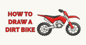How to Draw a Dirt Bike Featured Image