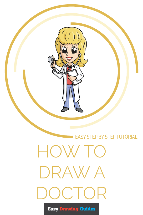 How to Draw Doctor | Share to Pinterest