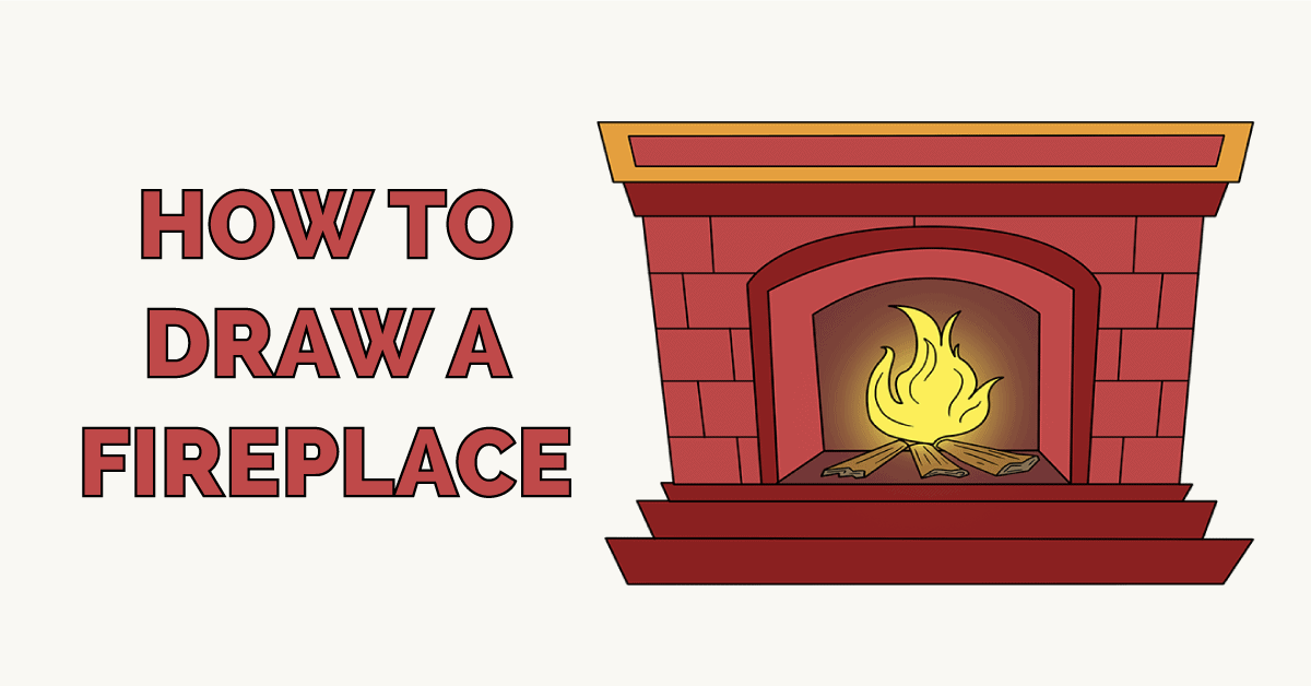How to Draw a Fireplace Featured Image