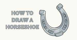 How to Draw a Horseshoe Featured Image