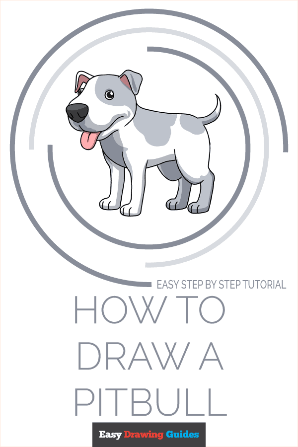 How to Draw Pitbull | Share to Pinterest