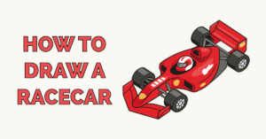 How to Draw a Racecar Featured Image