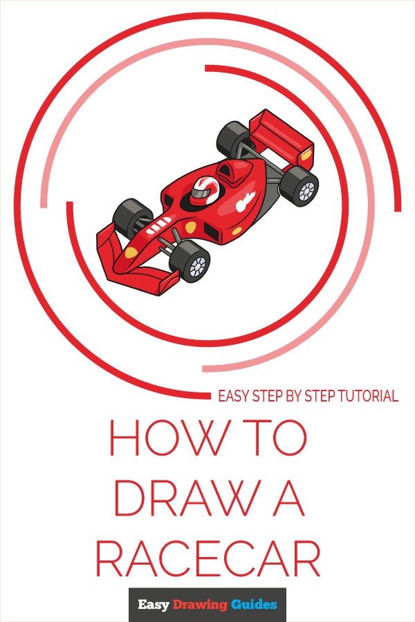 How to Draw Racecar | Share to Pinterest